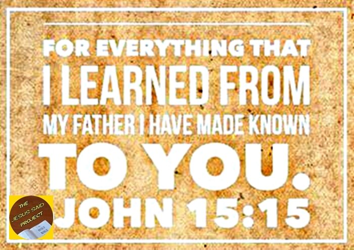 Everything Jesus Learned from Father